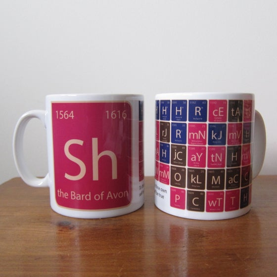Image of New -Shakespeare Mug