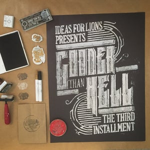 Image of Gooder Than Hell Linoleum Poster
