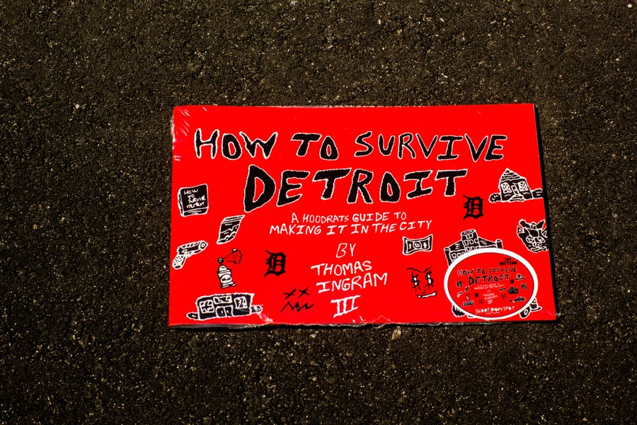"Image of ""How To Survive Detroit"" The Graphic Novel"