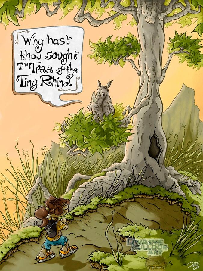 Image of The Tree of the Tiny Rhino