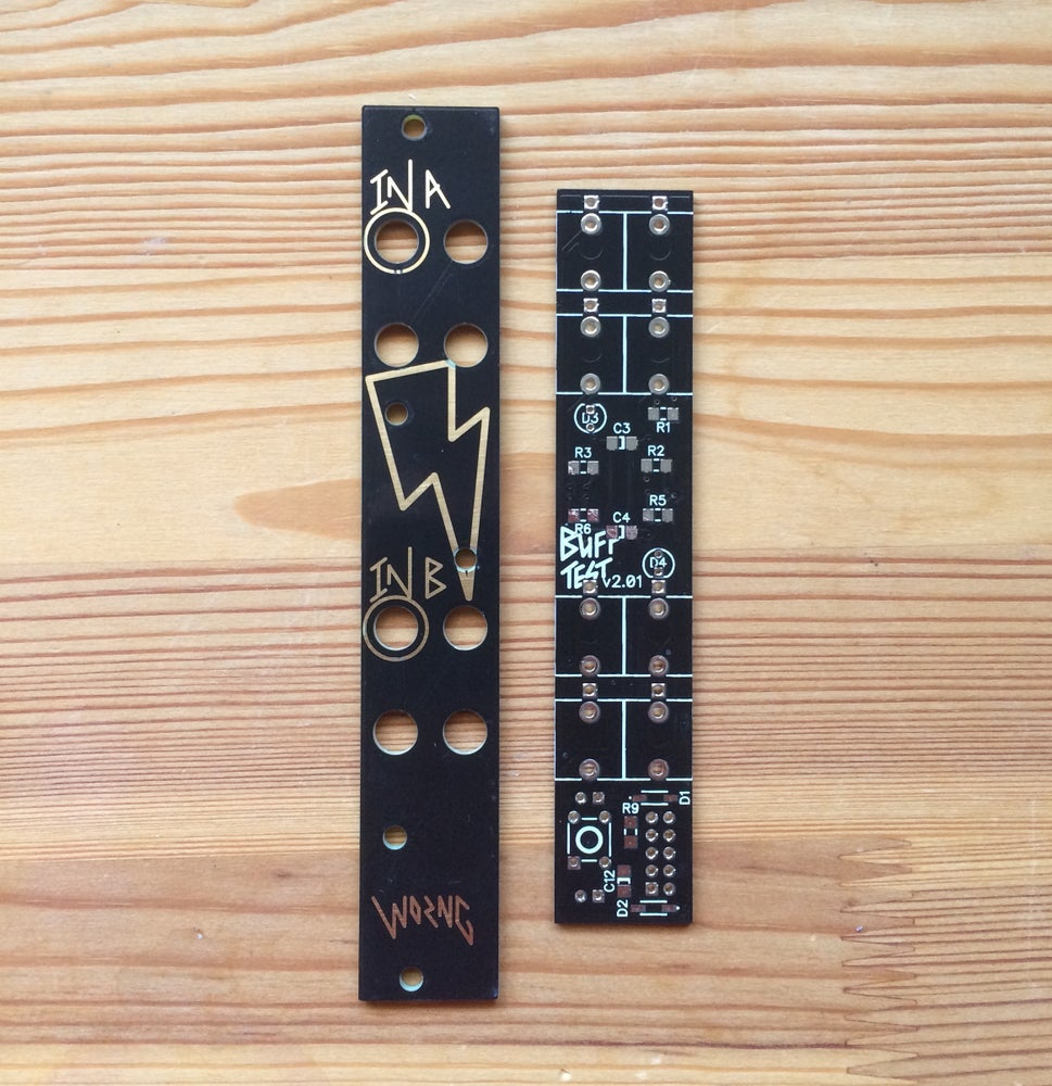 Image of BuffTest PCB & Panel