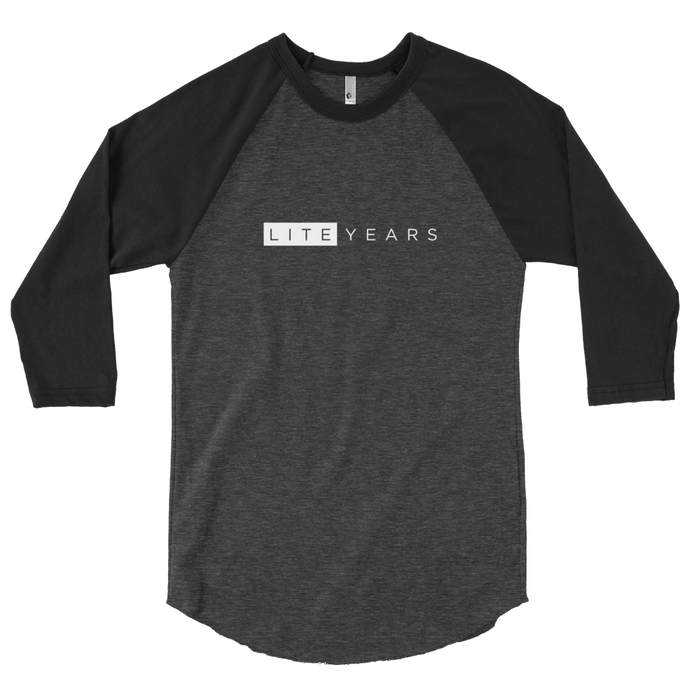 Image of LITEYEARS Logo 3/4 Sleeve