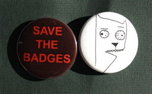 Image of Save the Badges