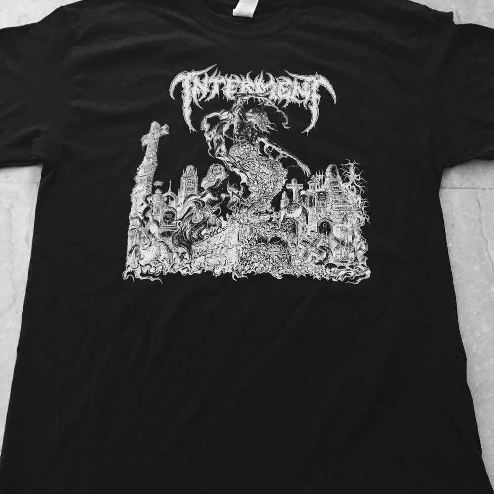 """Image of INTERMENT """"Scent Of The Buried"""" Black T-Shirt"""