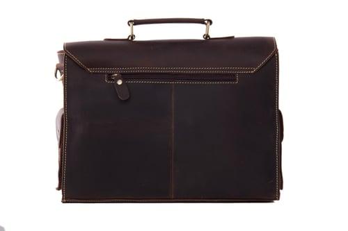 Image of High Quality Genuine Leather Briefcase Men Messenger Shoulder Bag Men Handbags 9098