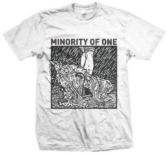 Image of Minority Of One - Never Quit T-Shirt (Girly, S, M, L, XL)