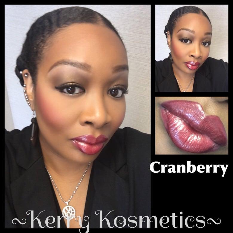 Image of Luscious Lipgloss -CRANBERRY