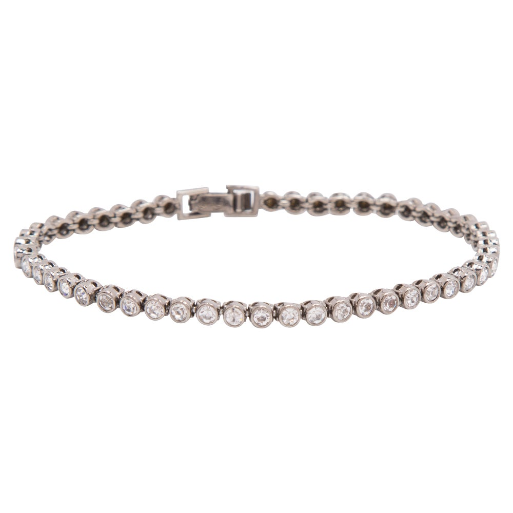 Image of Palladium Tennis Bracelet
