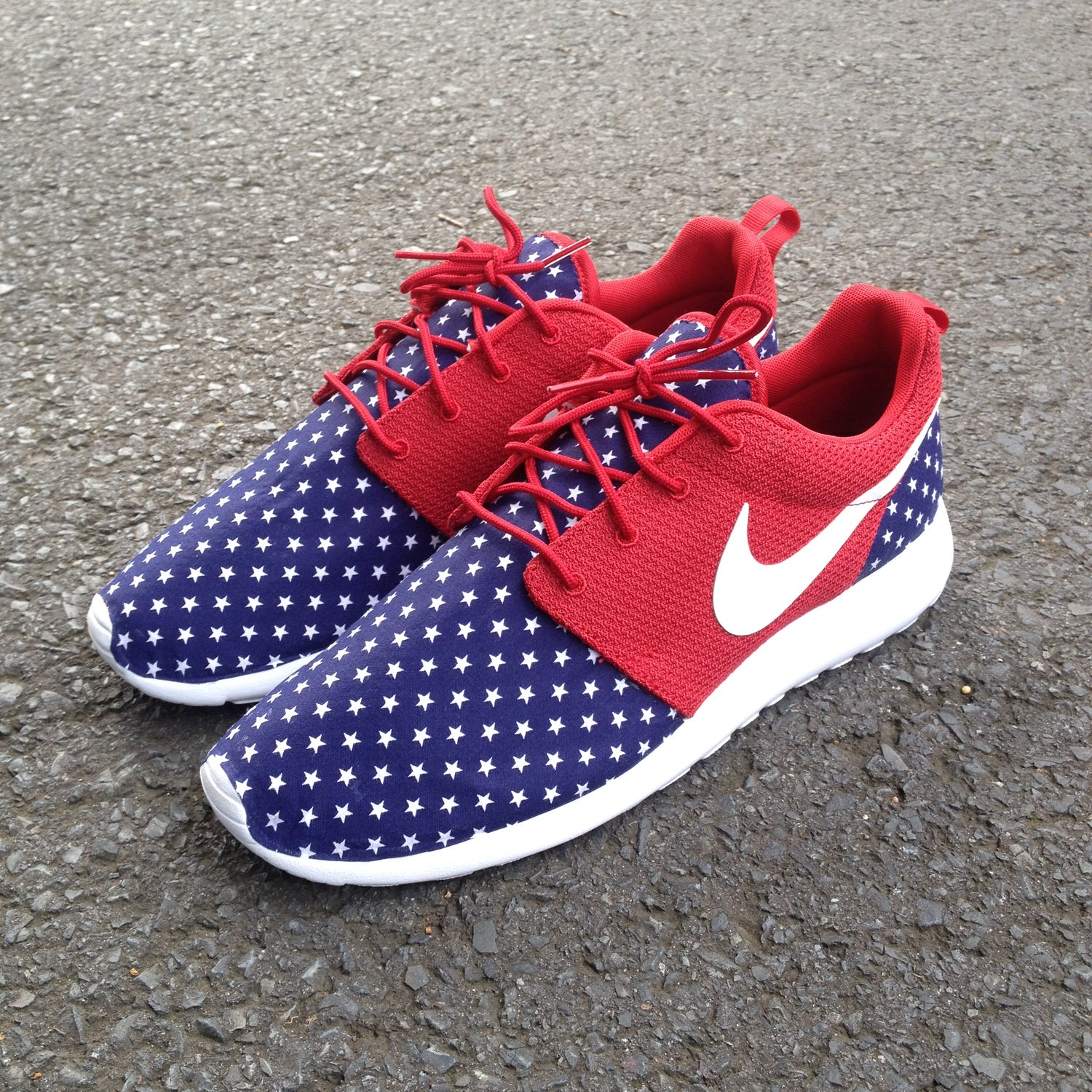 "Image of Custom Nike Roshe One ""Murica"""