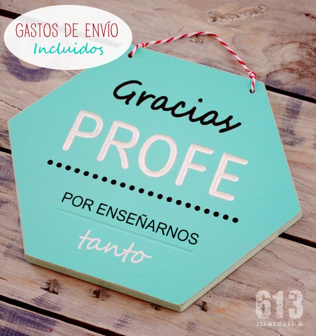 "Image of HEXÁGONO ""GRACIAS PROFE"""