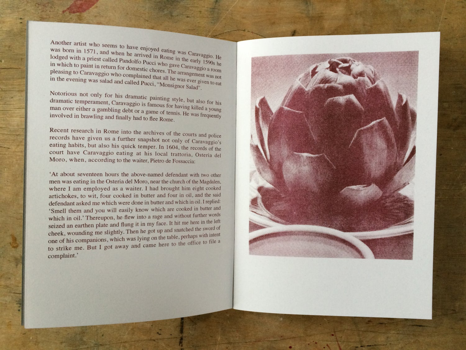 Image of The (Starving) Artist's Cookbook by Stephanie Willats