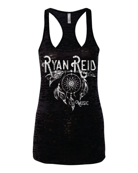 Image of Ryan Reid Dreamcatcher Burn Out Womens Tank