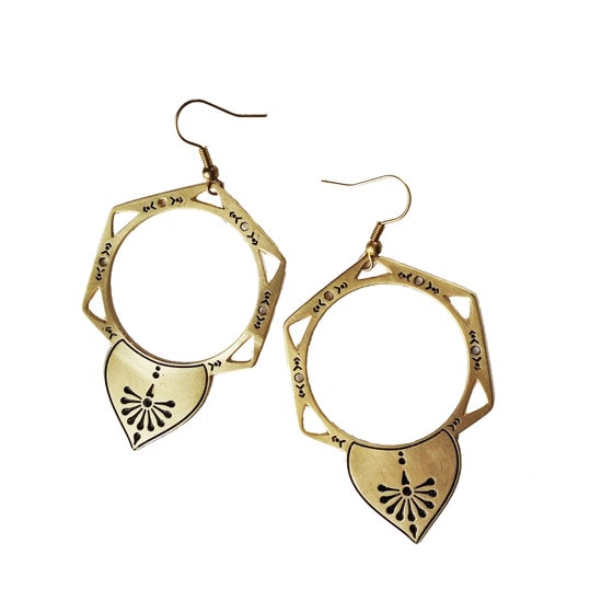 Image of Alchemy Drop Earrings