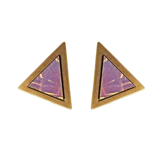 Image of Mystic Triangle Studs