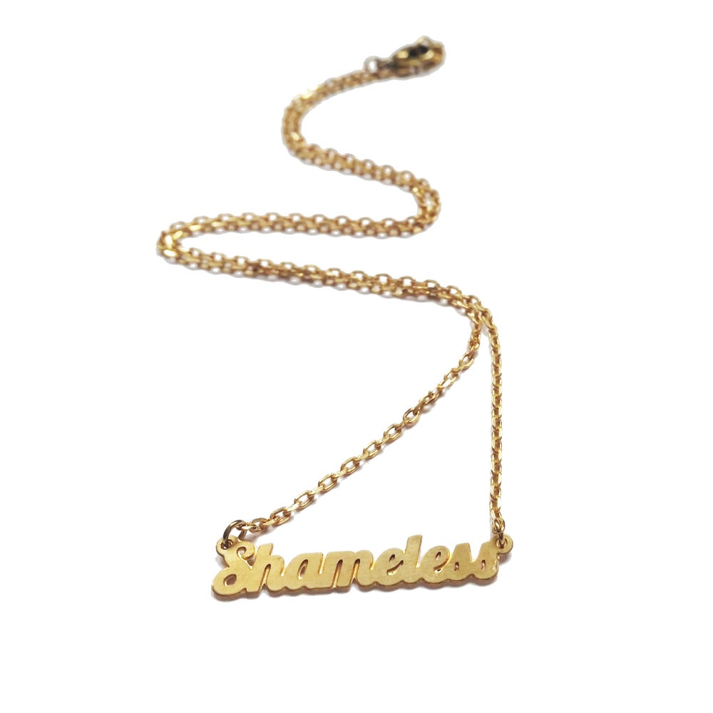 Image of Shameless Necklace