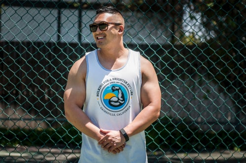 "Image of ""Gainsville"" tank (Men's)"