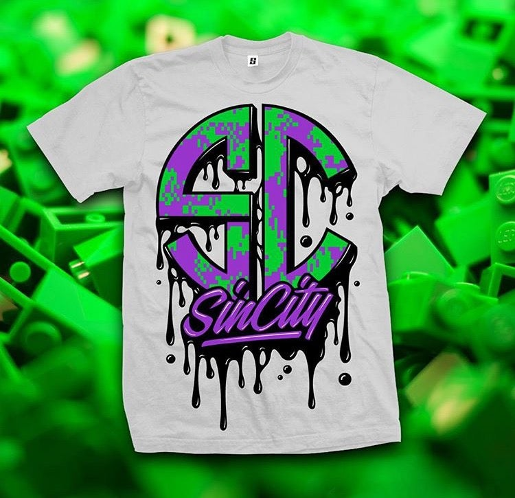Drippy SinCity T Shirt