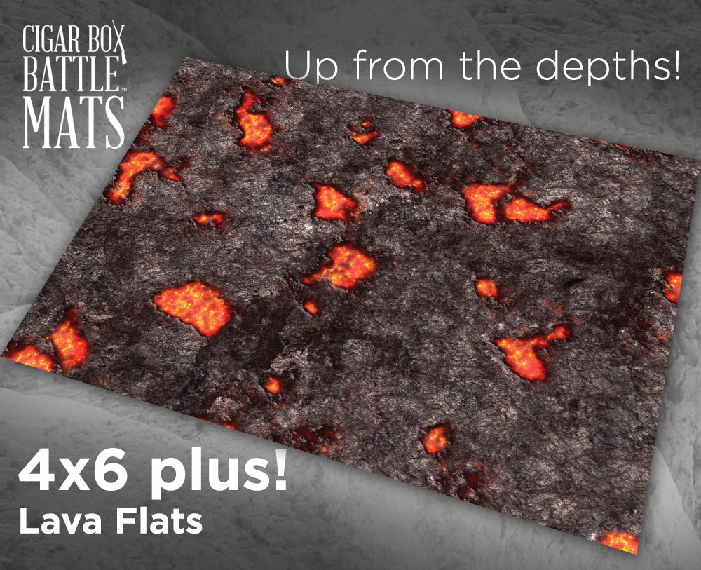 Image of Lava Flats - 4'x6' PLUS - #360