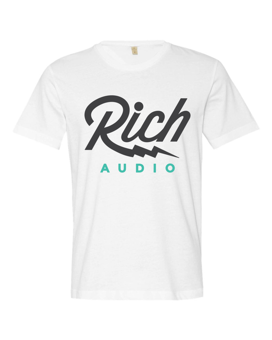 Image of RICH Audio Vintage White T