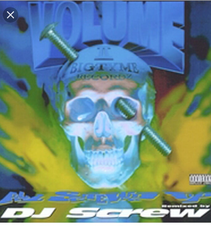 Image of DJ SCREW ///ALL SCREWED UP