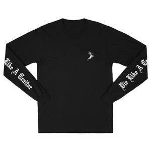 Image of 90East Traitor Long Sleeve Tee Black