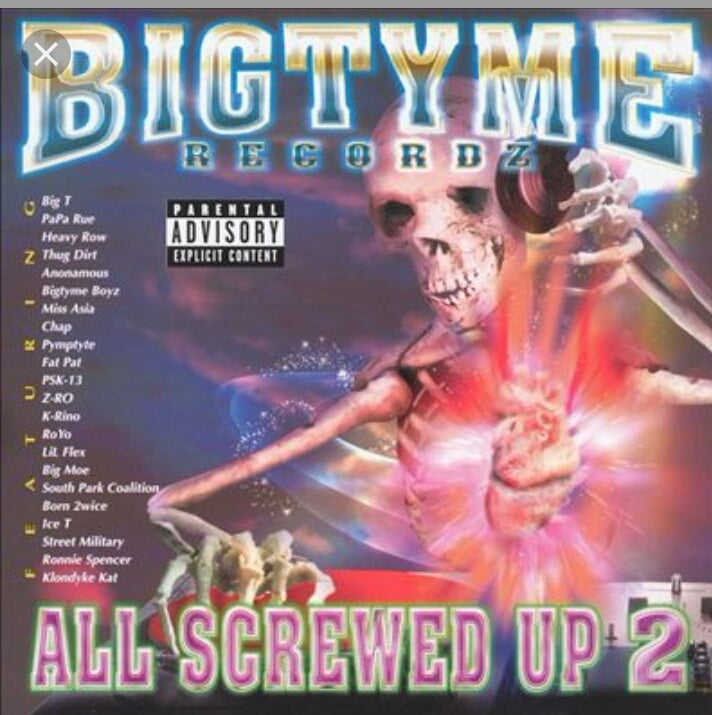 Image of BIGTYME RECORDZ......ALL SCREWED UP 2