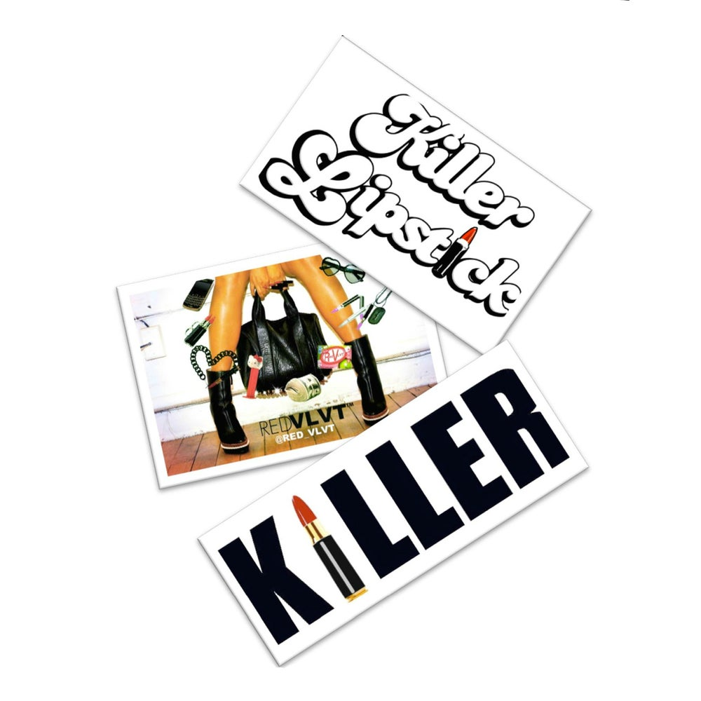 Image of Killer Polaroid Decals (3 pack)