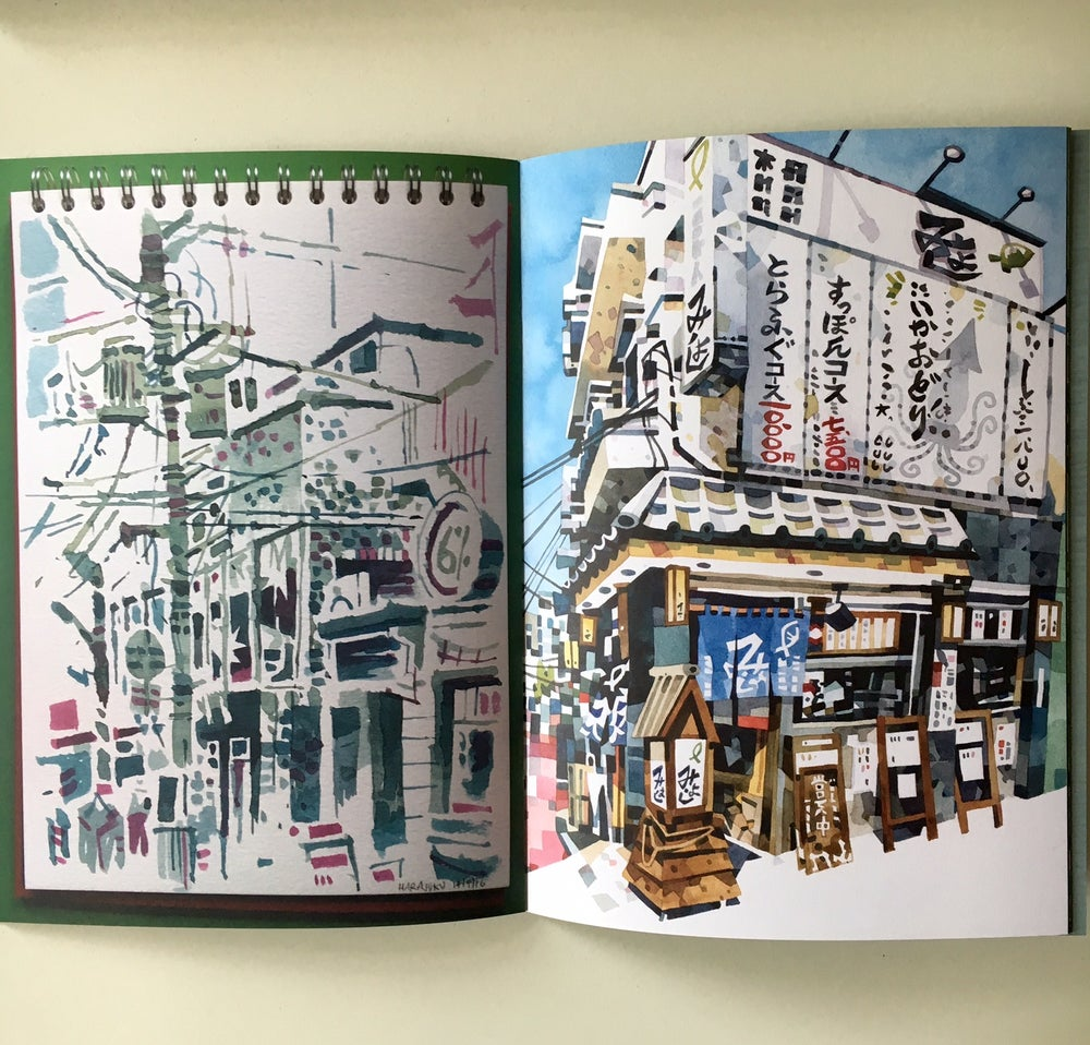 Image of Sketchbook Vol 4 - More Japan (2016)