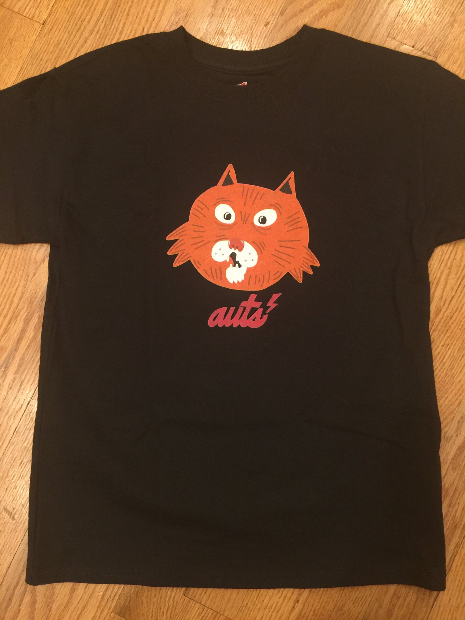 Image of AUTS (Always Up To Something) Surprised Cat Limited Edition Tee