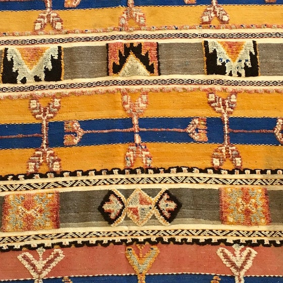 "Image of ""Bouchra"" Glaoua Tribal Rug"