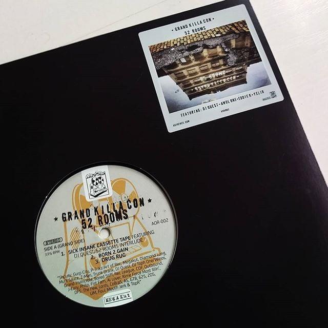 Image of Grand Killa Con - 52 Rooms EP (Vinyl)