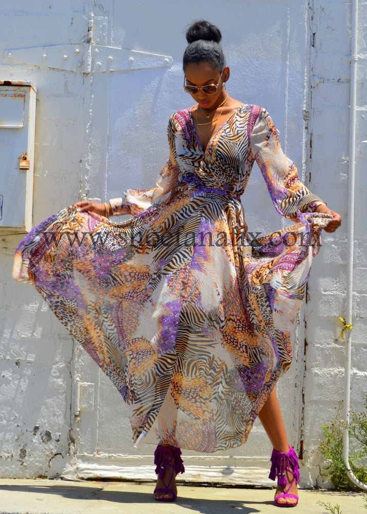 Image of DAYDREAM MAXI DRESS