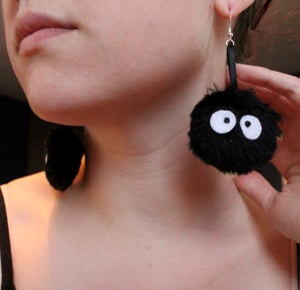 Image of Soot Sprite Earrings