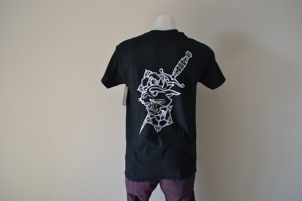 Image of Sykotic X Jimmy B Panther Tee (Black)