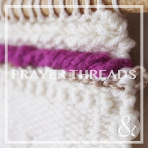 Image of Prayer Threads - Wall Hanging No. 1