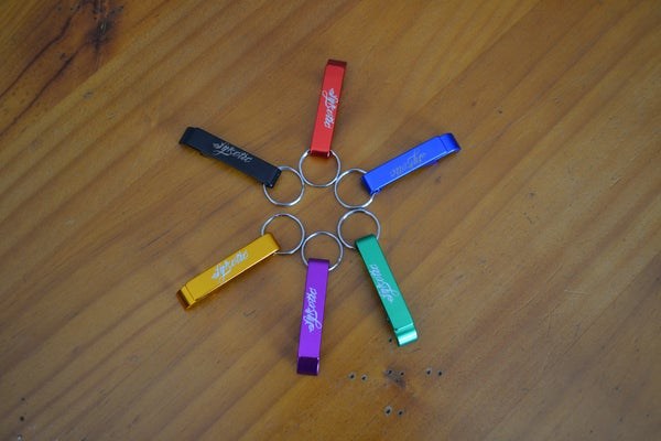 Image of Anodized Bottle Opener Keyring