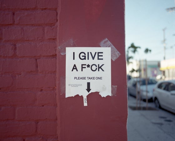 Image of I Give a F*ck, Please Take One