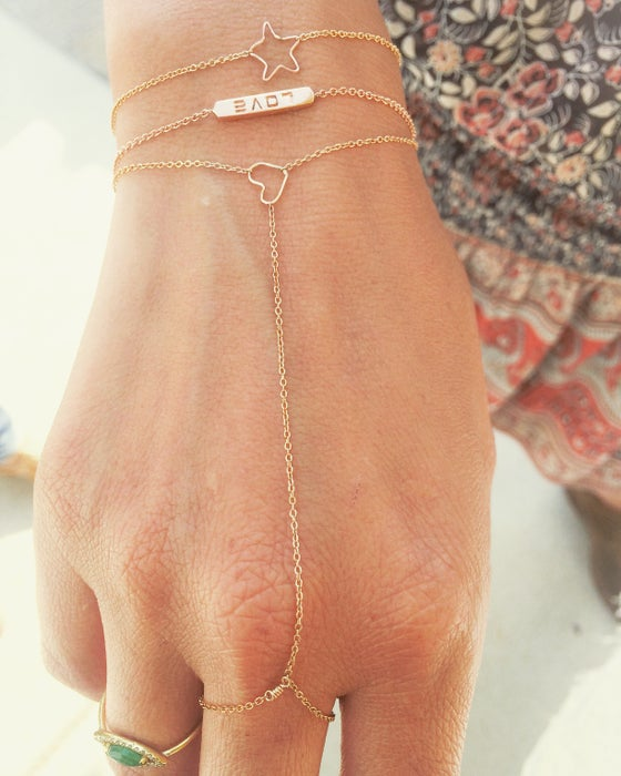 Image of Mini Charm Hand Chain