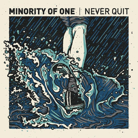 Image of Minority Of One - Never Quit LP 12""