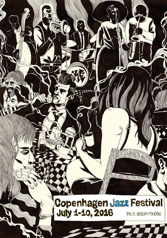 Image of Festival poster - Copenhagen Jazz Festival 2016