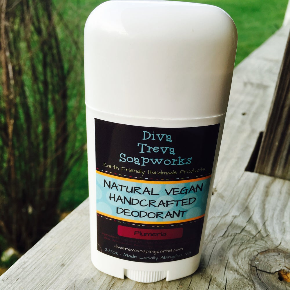 Image of Plumeria Natural Deodorant