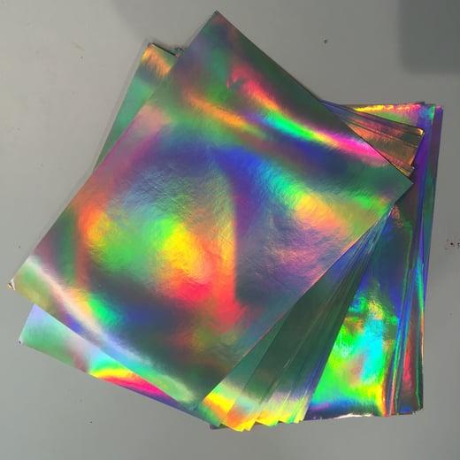 Hologram Eggshell Sticker Sheet