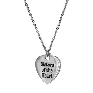 Image of Sisters Of The Heart Necklace
