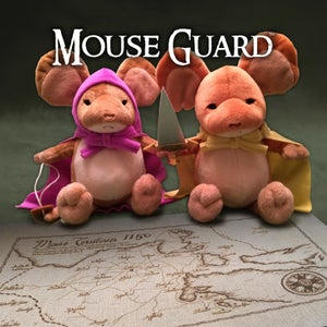 Image of Mouse Guard: Limited Edition Plush Lieam & Sadie set