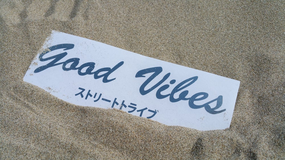 Image of GOOD VIBES 'Street Tribe' Club Decal