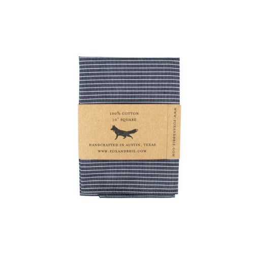 Image of Engineer Stripe Pocket Square
