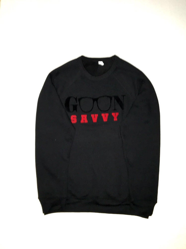 Image of Black Crew GOON Savvy sweatshirt