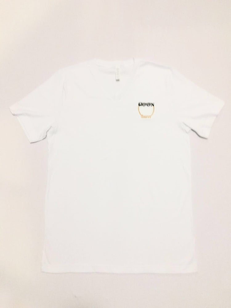 Image of White GOON Savvy V-Neck T shirt