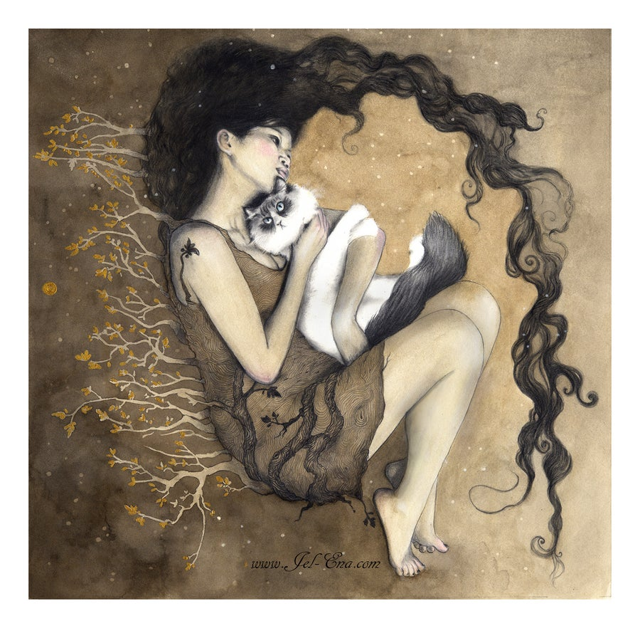 "Image of ""Rong"" Limited Edition Fine Art Print"