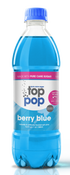 Image of BERRY BLUE - PURE CANE 16.9 OUNCE